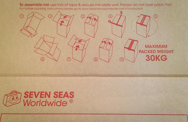Seven Seas box