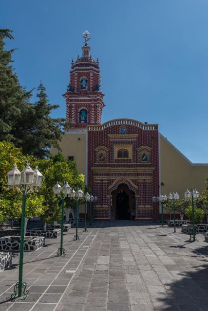 Church of Santa María Tonantzintla