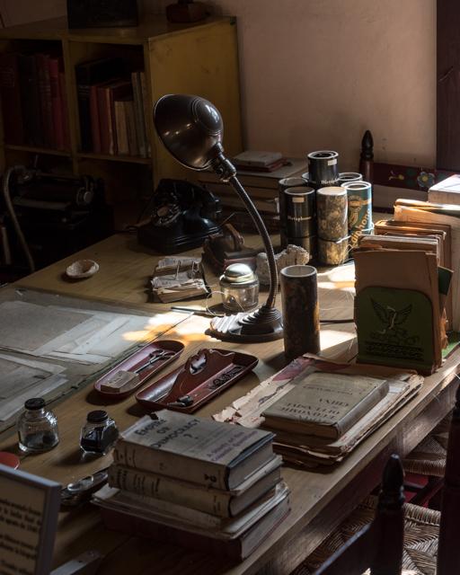 Trotsky's desk