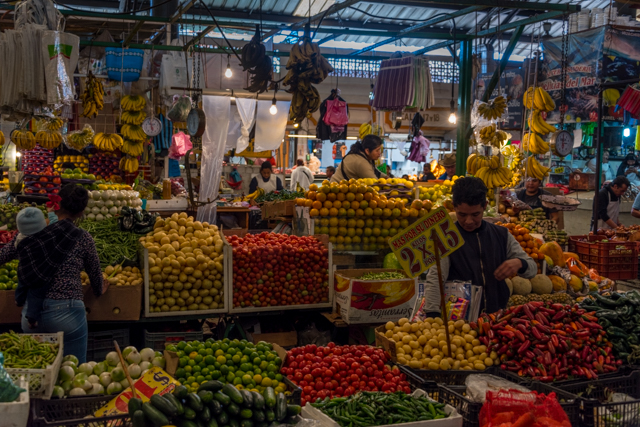 Cholula food market