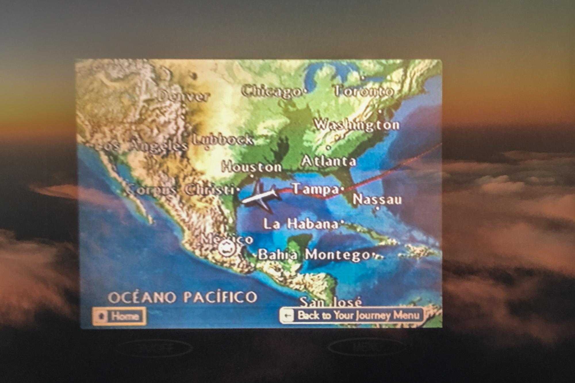 En route to Mexico City